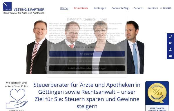Vorschau von www.vesting-stb.de, Vesting & Partner