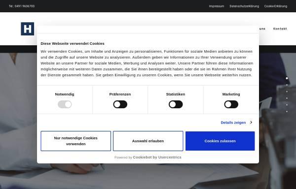 Vorschau von www.heddens.de, Steuerberater Arno Heddens