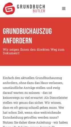 Vorschau der mobilen Webseite www.ejw-steuerberater.de, Erkens Janas Wiemann und Partner - Steuerberatungsgesellschaft