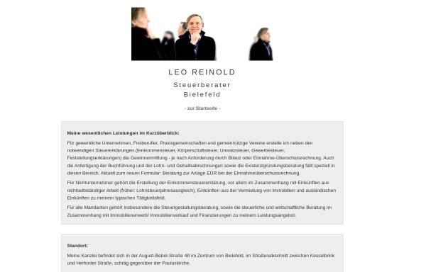Vorschau von www.steuerberater-reinold.de, Leo Reinold - Steuerberater