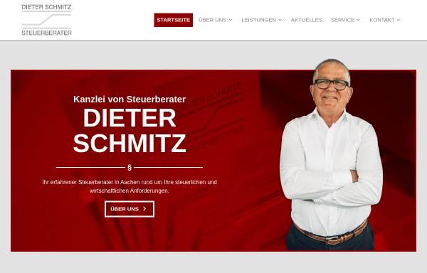 Vorschau von www.stbschmitz.de, Dieter Schmitz Steuerberater