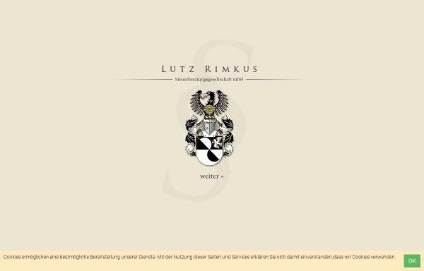 Vorschau von www.stb-rimkus.de, Lutz Rimkus - Steuerberater und Diplom-Kaufmann