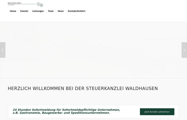 Vorschau von www.stb-waldhausen.de, Horst Waldhausen Steuerberater