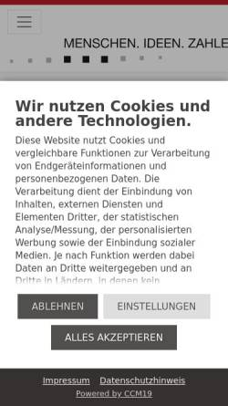 Vorschau der mobilen Webseite www.duesing.de, Duesing GmbH