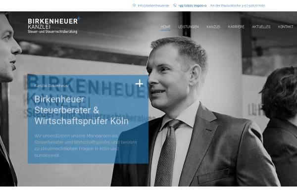 Vorschau von www.birkenheuer.com, Birkenheuer Steuerberatungsgesellschaft mbH