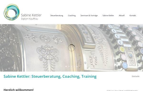 Vorschau von sabine-kettler.de, Dipl.-Kauffrau Sabine Kettler - Steuerberaterin
