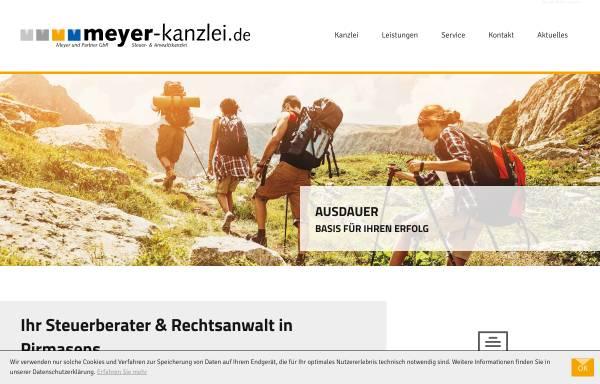 Vorschau von www.meyer-kanzlei.de, Meyer und Partner GbR