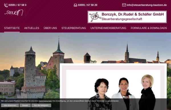 Vorschau von www.steuerberatung-bautzen.de, Borczyk, Dr. Rudel & Schäfer Steuerberatungsgesellschaft GmbH