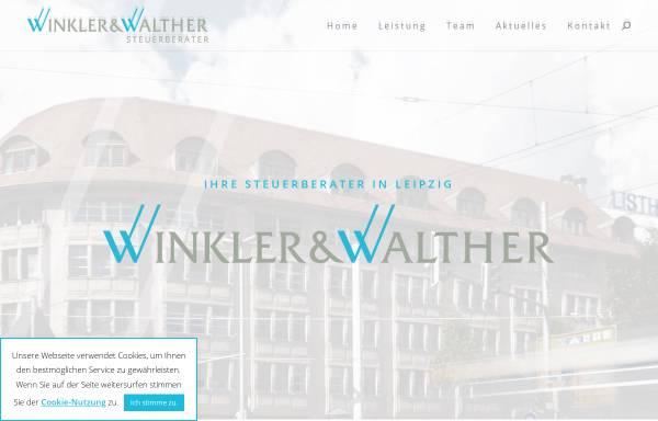 Vorschau von www.winkler-walther.de, Walendy & Walther Steuerberater