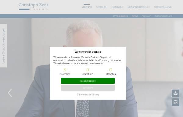 Vorschau von www.renz-steuerberater.de, Christoph Renz - Steuerberater