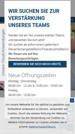Vorschau der mobilen Webseite www.renz-steuerberater.de, Christoph Renz - Steuerberater