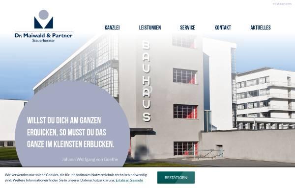 Vorschau von www.dr-maiwald-und-barthel.de, Dr. Maiwald & Barthel - Steuerberater