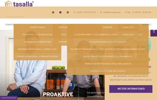 Vorschau von www.stb-kanzlei.net, Andreas Häßler - Steuerberater