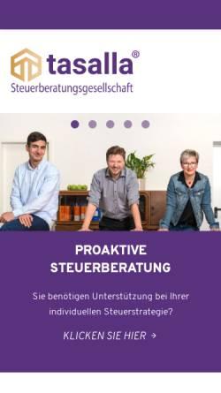 Vorschau der mobilen Webseite www.stb-kanzlei.net, Andreas Häßler - Steuerberater