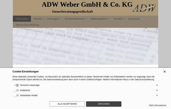 Vorschau von www.steuerberater-in-magdeburg.com, ADW Weber GmbH & Co.KG Steuerberatungsgesellschaft