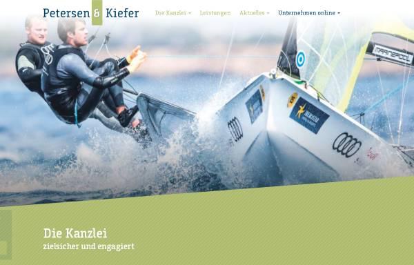 Vorschau von www.stb-petersen.de, Petersen und Partner Steuerberater GbR