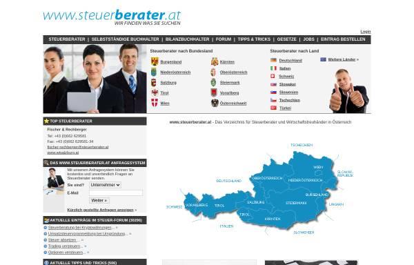 Vorschau von www.steuerberater.at, Steuerberater.at