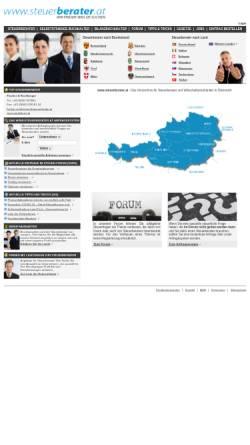 Vorschau der mobilen Webseite www.steuerberater.at, Steuerberater.at