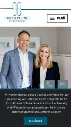 Vorschau der mobilen Webseite www.wt-steuerberatung.at, WT Huber Steuerberatung GmbH