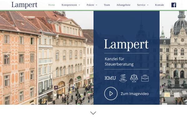 Vorschau von www.kanzleilampert.at, Lampert Kanzlei für Wirtschaftsprüfung und Steuerberatung GmbH