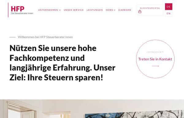 Vorschau von www.hfp.at, HFP Steuerberatungs GmbH