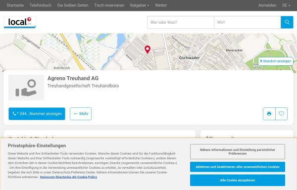 Vorschau von www.kindlimann-treuhand.ch, Kindlimann & Partner AG