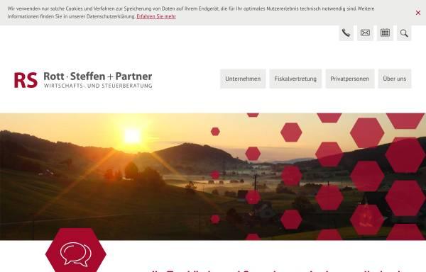 Vorschau von www.rs-partner.ch, Rott, Steffen und Partner GmbH