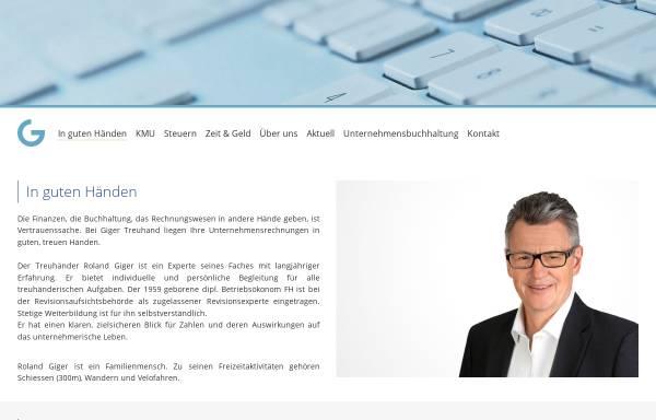 Vorschau von www.gigertreuhand.ch, AG Giger Treuhand