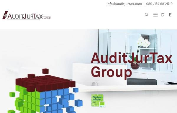 Vorschau von www.auditjurtax.de, AuditJurTax Group - Altweger Rechtsanwaltsgesellschaft mbH