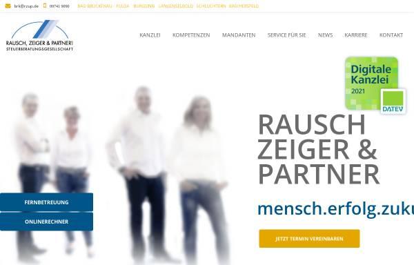 Vorschau von www.rzup.de, Rausch, Zeiger und Partner Steuerberater - Rechtsanwalt Partnerschaftsgesellschaft