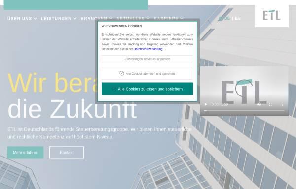 Vorschau von www.etl.de, ETL European Tax & Law e. V.