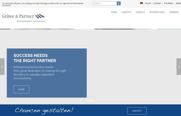 Vorschau von www.graewe-partner.de, Gräwe & Partner