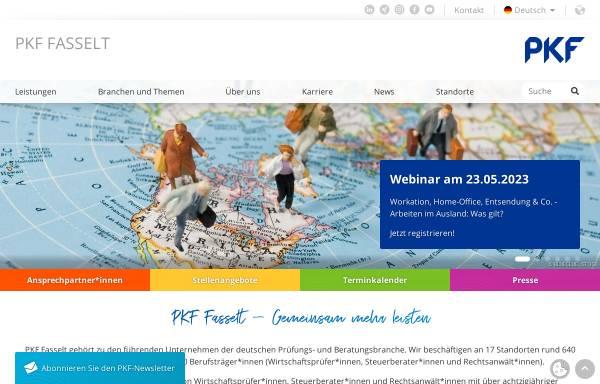 Vorschau von www.pkf-fasselt.de, PKF Deutschland GmbH