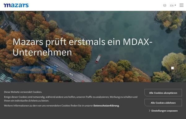 Vorschau von www.mazars.de, RBS RoeverBroennerSusat GmbH & Co. KG