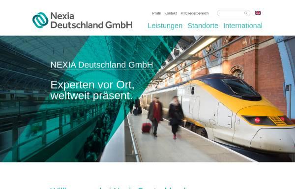 Vorschau von www.nexia.de, NEXIA Deutschland GmbH