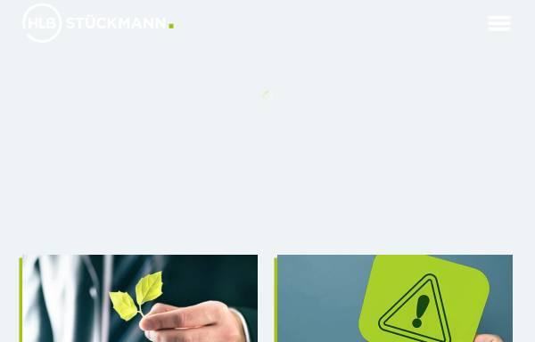 Vorschau von www.stueckmann.de, HLB Dr. Stückmann und Partner