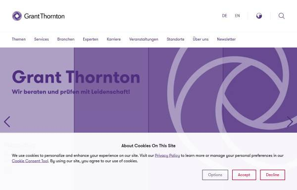 Vorschau von www.wkgt.com, Warth und Klein Grant Thornton AG