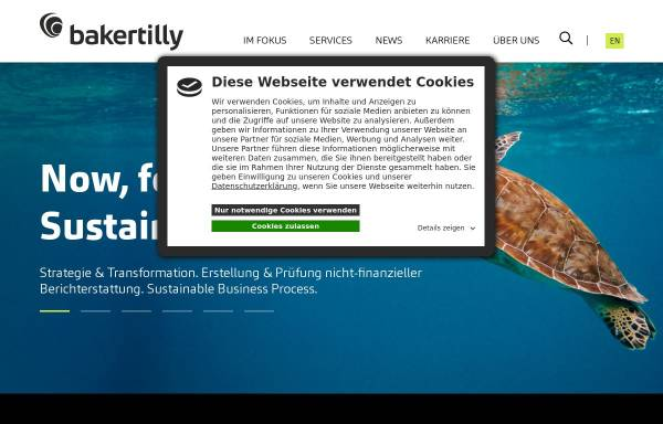 Vorschau von www.bakertilly.de, Baker Tilly GmbH & Co. KG Wirtschaftsprüfungsgesellschaft