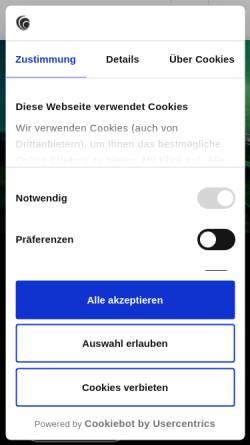 Vorschau der mobilen Webseite www.bakertilly.de, Baker Tilly GmbH & Co. KG Wirtschaftsprüfungsgesellschaft