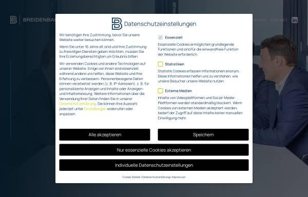 Vorschau von rsm-breidenbach.de, RSM Breidenbach und Partner PartG mbB