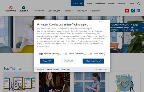 Vorschau von audicon.net, Audicon GmbH