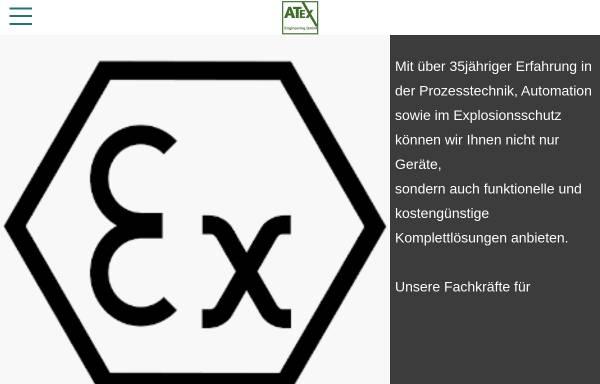 Vorschau von www.atex-engineering.de, Atex Engineering GmbH Gesellschaft für Automation und Explosionsschutz
