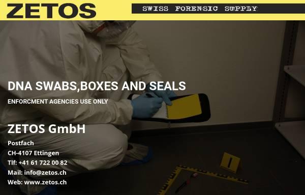 Vorschau von www.zetos.ch, Zetos GmbH