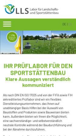 Vorschau der mobilen Webseite www.labor-lehmacher.de, Labor Lehmacher - Schneider GmbH & Co. KG