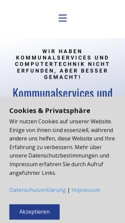 Vorschau der mobilen Webseite www.dimaweb.at, DIMAWEB e.U.
