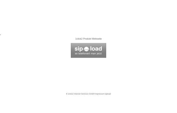 Vorschau von www.sipload.de, 1click2 Internet Services GmbH