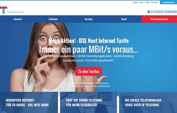 Vorschau von www.telematica.at, Telematica Internet Service Provider GmbH