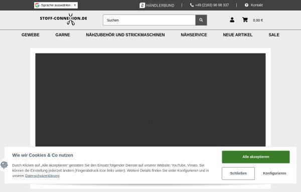 Vorschau von www.stoff-connexion.de, Garn-ConneXion.de UG