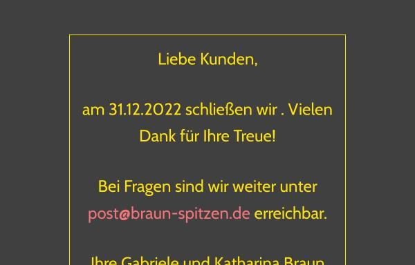 Vorschau von www.braun-spitzen.de, Braun Spitzen und Tülle GmbH & Co.KG