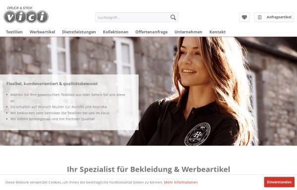Vorschau von www.druckundstick.ch, Vici druck & stick GmbH